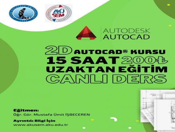 Autocad Eğitimi (2 Boyutlu)