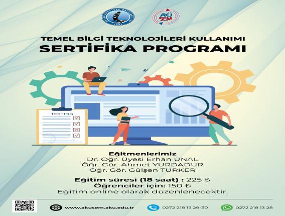 Bilgisayar İşletmenliği Sertifika Programı